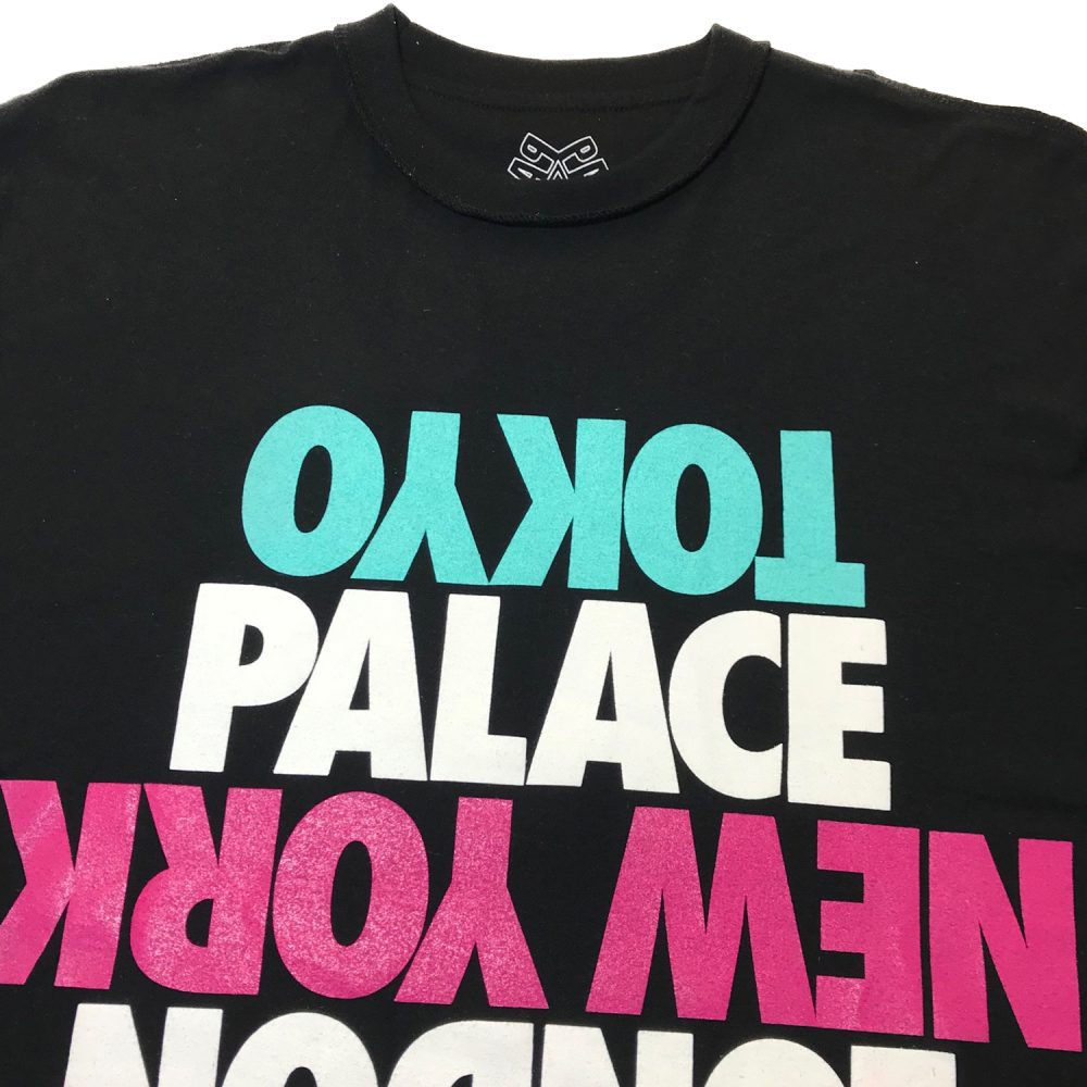 DSM Tee Black_0001_Palace dsm tee black small used half