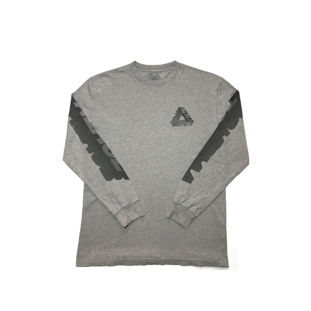 P3d_0000_Palace p3d ls tee grey small used front straight copy 10