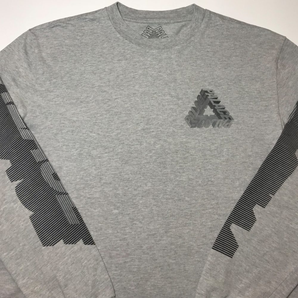 P3d_0003_Palace p3d ls tee grey small used front half