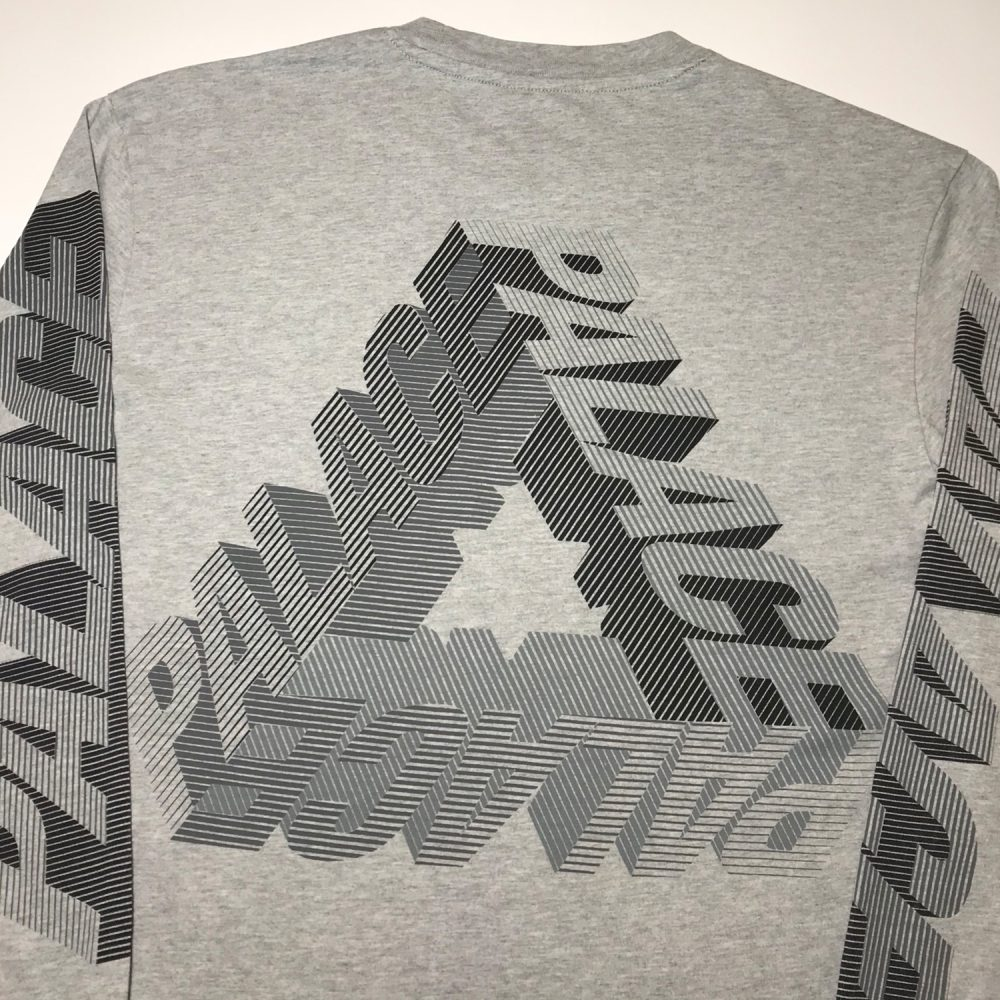 P3d_0004_Palace p3d ls tee grey small used back half