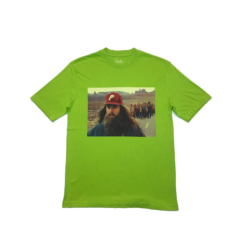 Palace Jenny Tee Green Small_0003_Palace jenny tee green size small straight