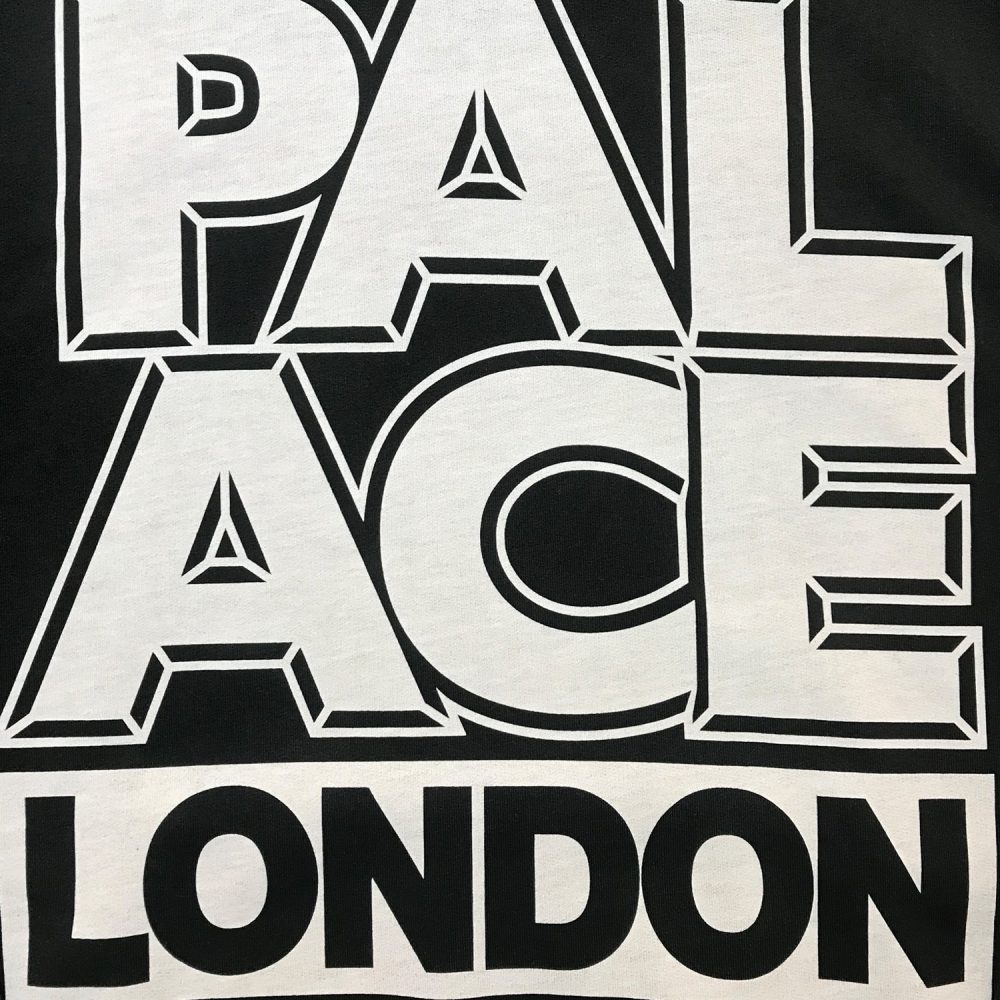 Palace london hood black large used back5