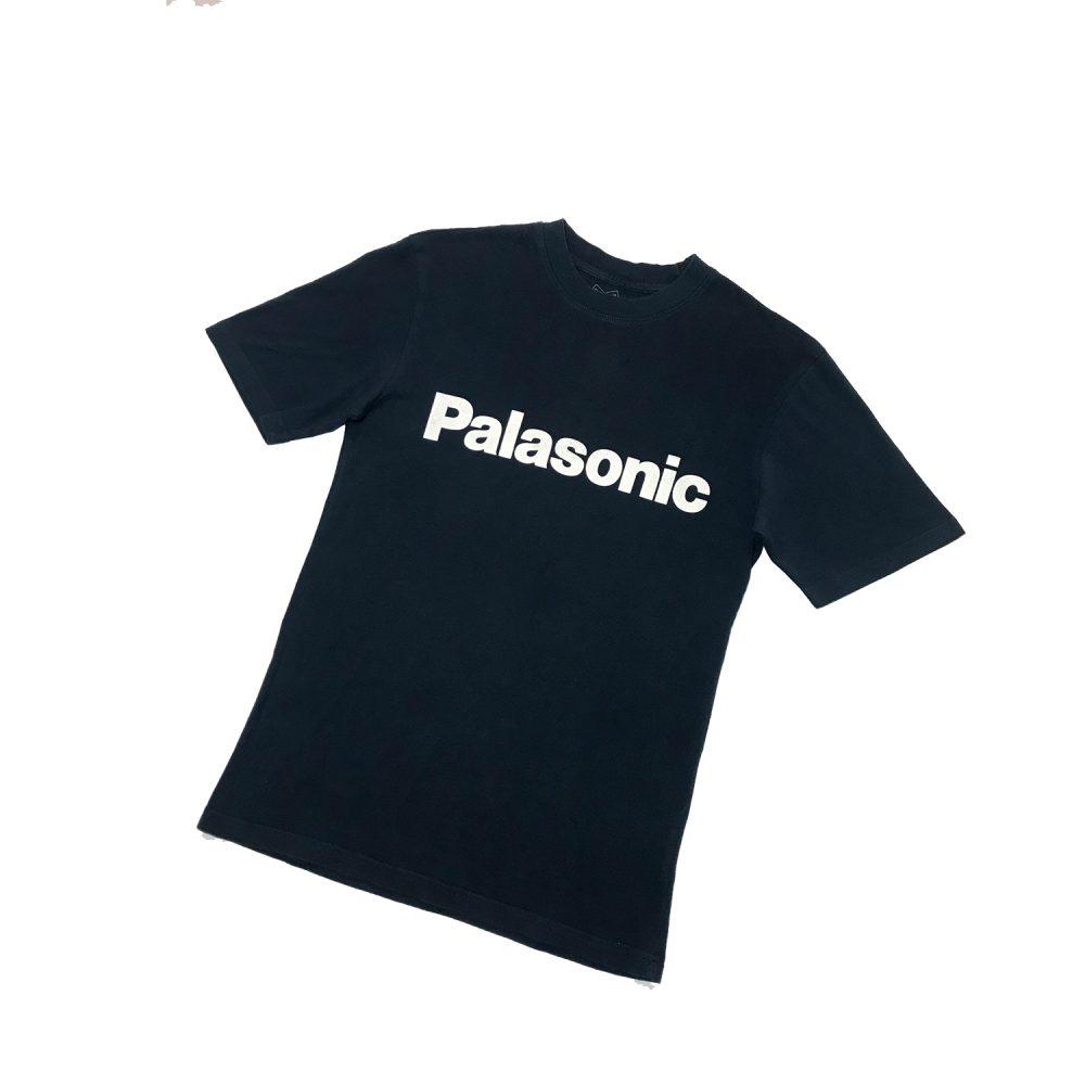Palace palasonic tee navy small used back5