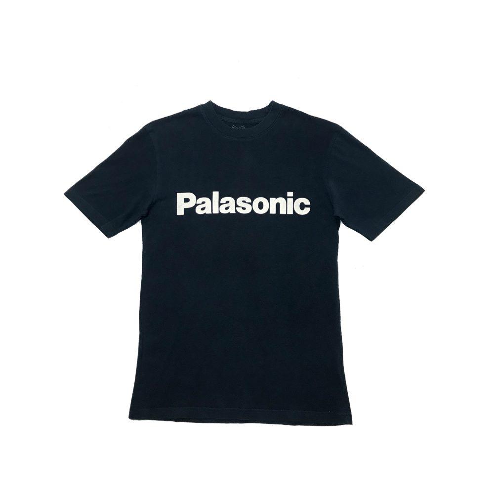 Palace palasonic tee navy small used back7