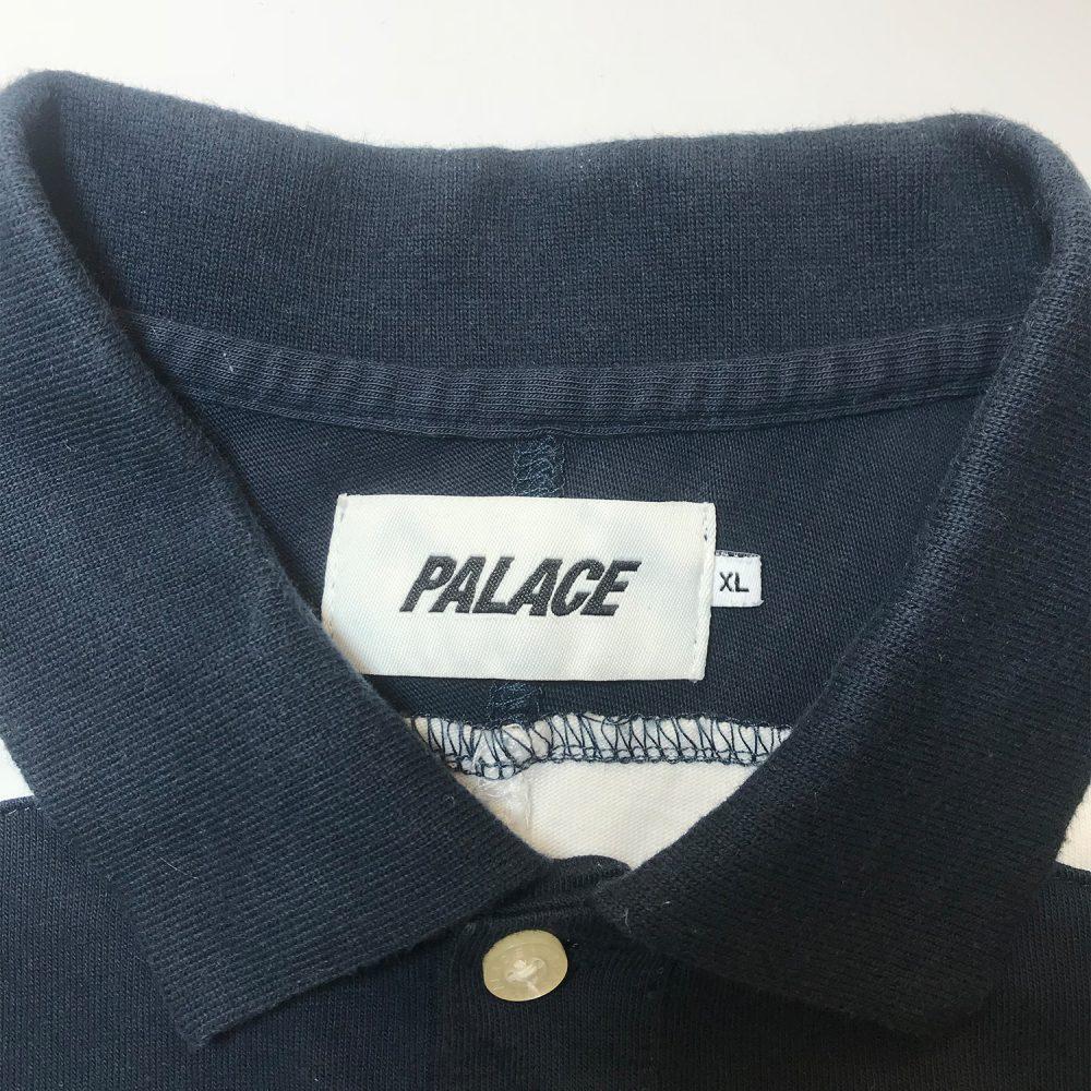Palace yaman 220 LS navy XL_0001_Palace yaman 220 ls polo navy XL used size