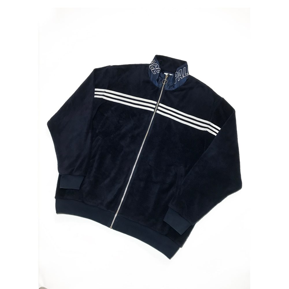 Adidas Jacket_0001_Palace x adidas velour tracksuit top size xl used front diag