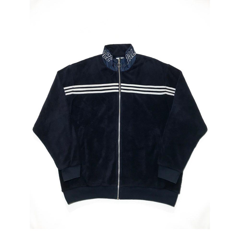 Adidas Jacket_0002_Palace x adidas velour track jacket used XL front straight