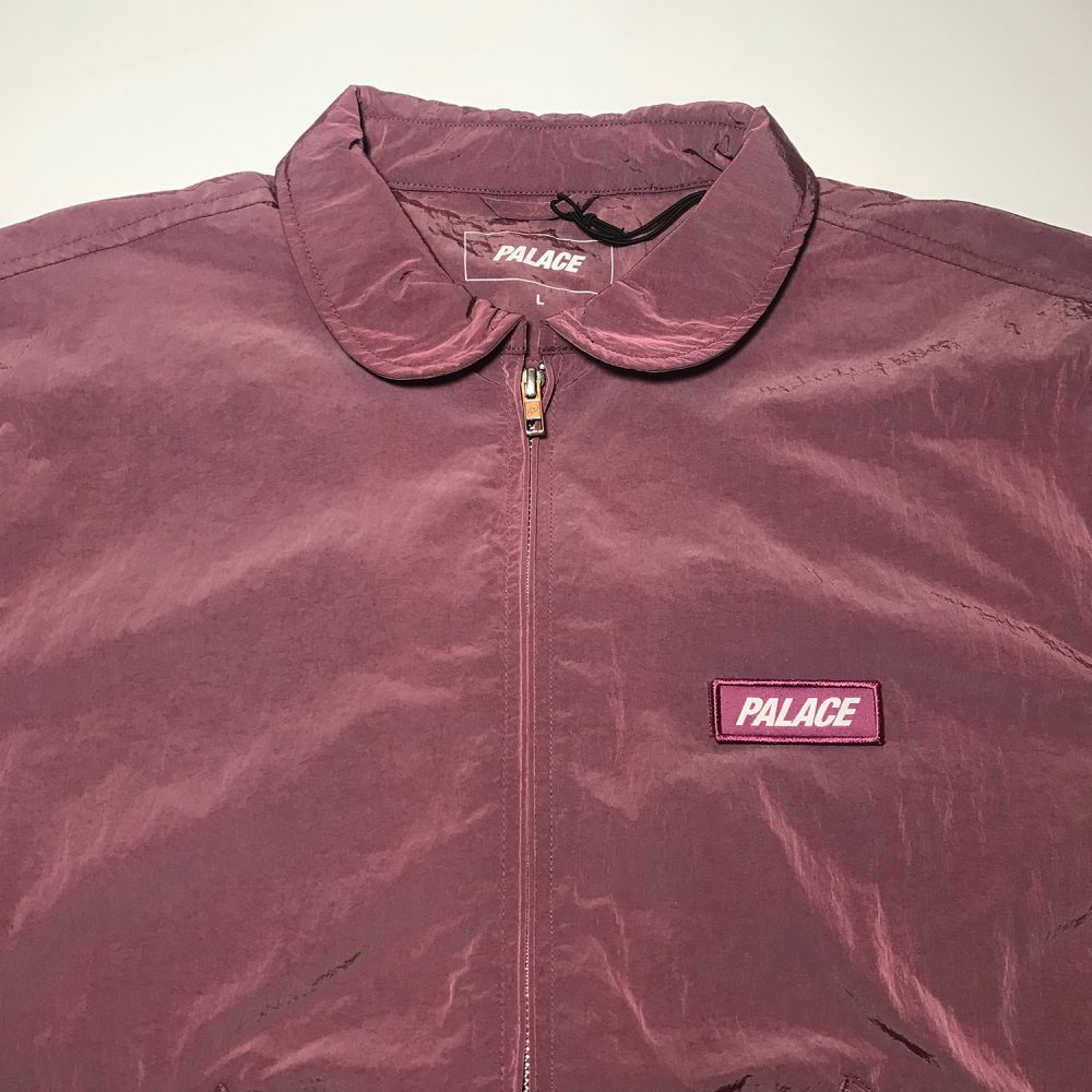 F Light Jacket_0000_Palace f-light jacket purple large brand new front half