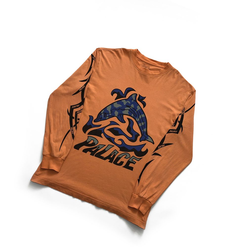 Sketchy Dolphin _0000_palace sketchy dolphin ls orange small used dront copy 4