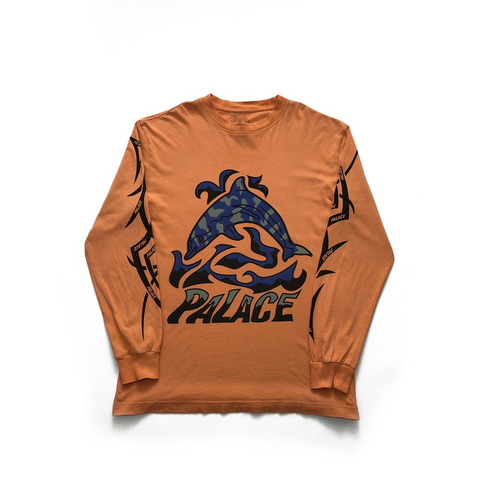 Sketchy Dolphin _0001_palace sketchy dolphin ls orange small used dront copy 3