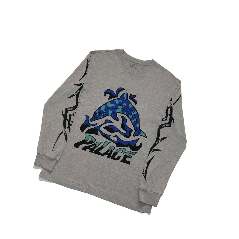 dolphin_0001_palace sketchy dolphin ls tee grey small used straight