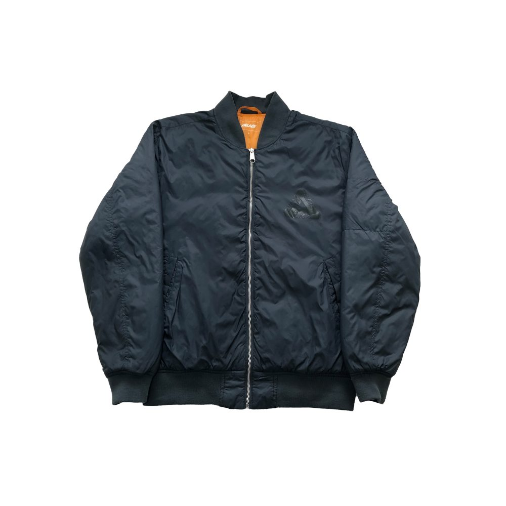 Jacket_0002_palace thinsulate bomber grey large used front straight