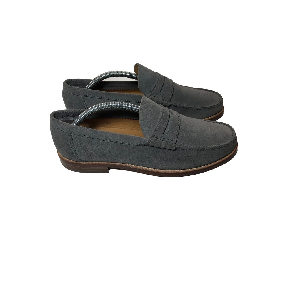 Penny_0003_palace penny loafer suede grey uk8 used side