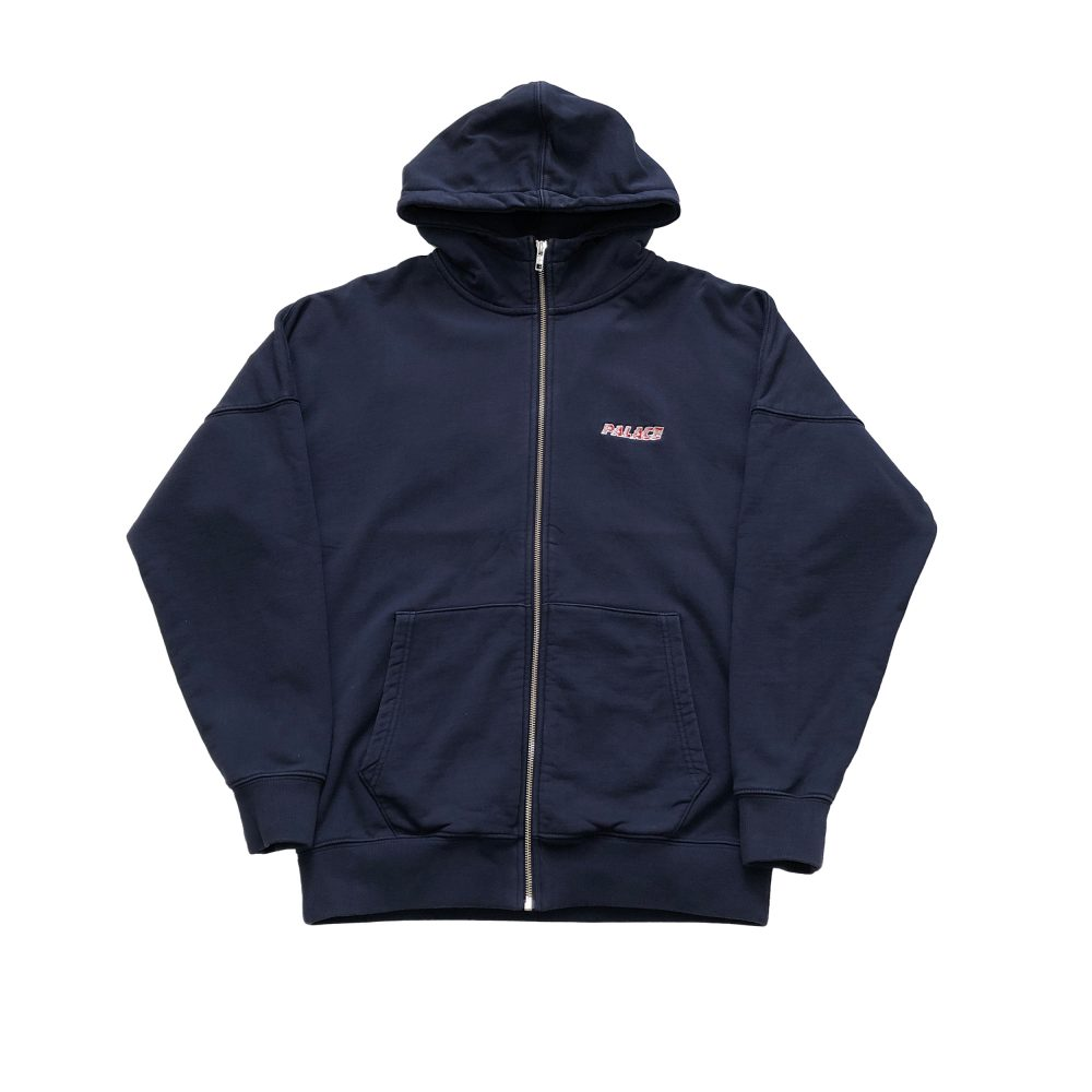 hood_0002_palace jumbo palace hood navy medium used front straight
