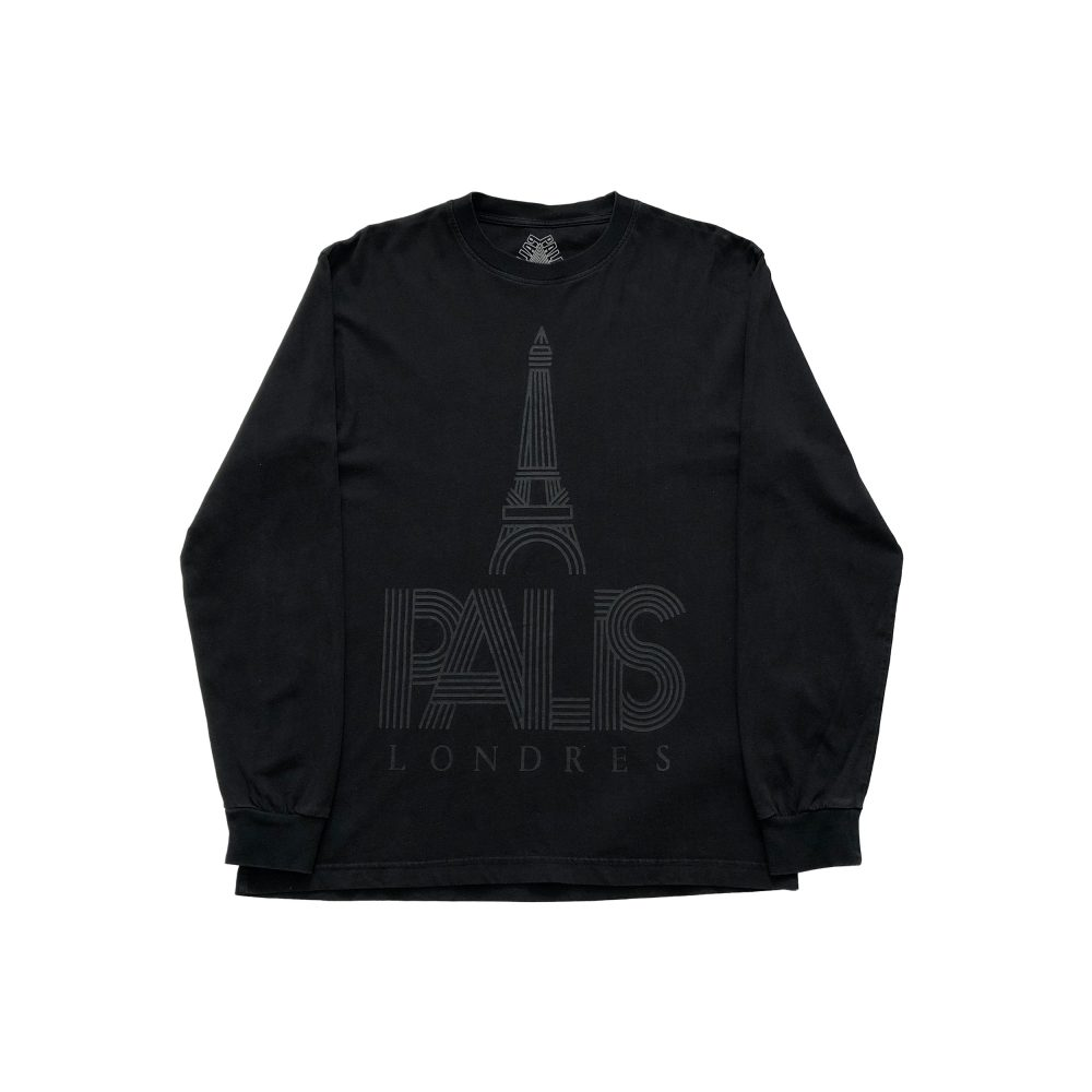 londres_0001_palace p londres ls tee black large used straight