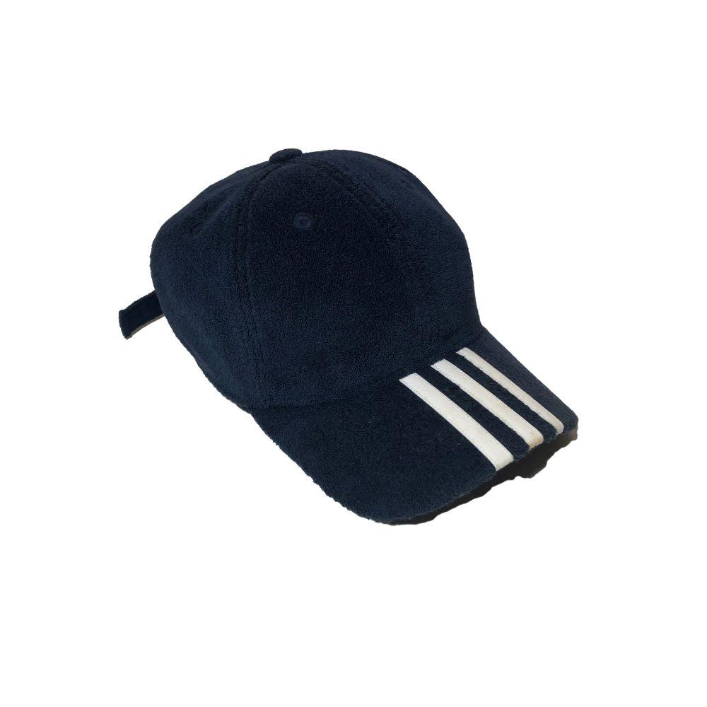 Cap_0000_palace x adidas towell cap navy used diag