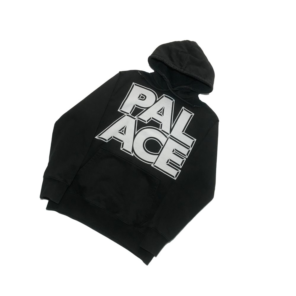 London_0000_palace london hood black small used front straight copy