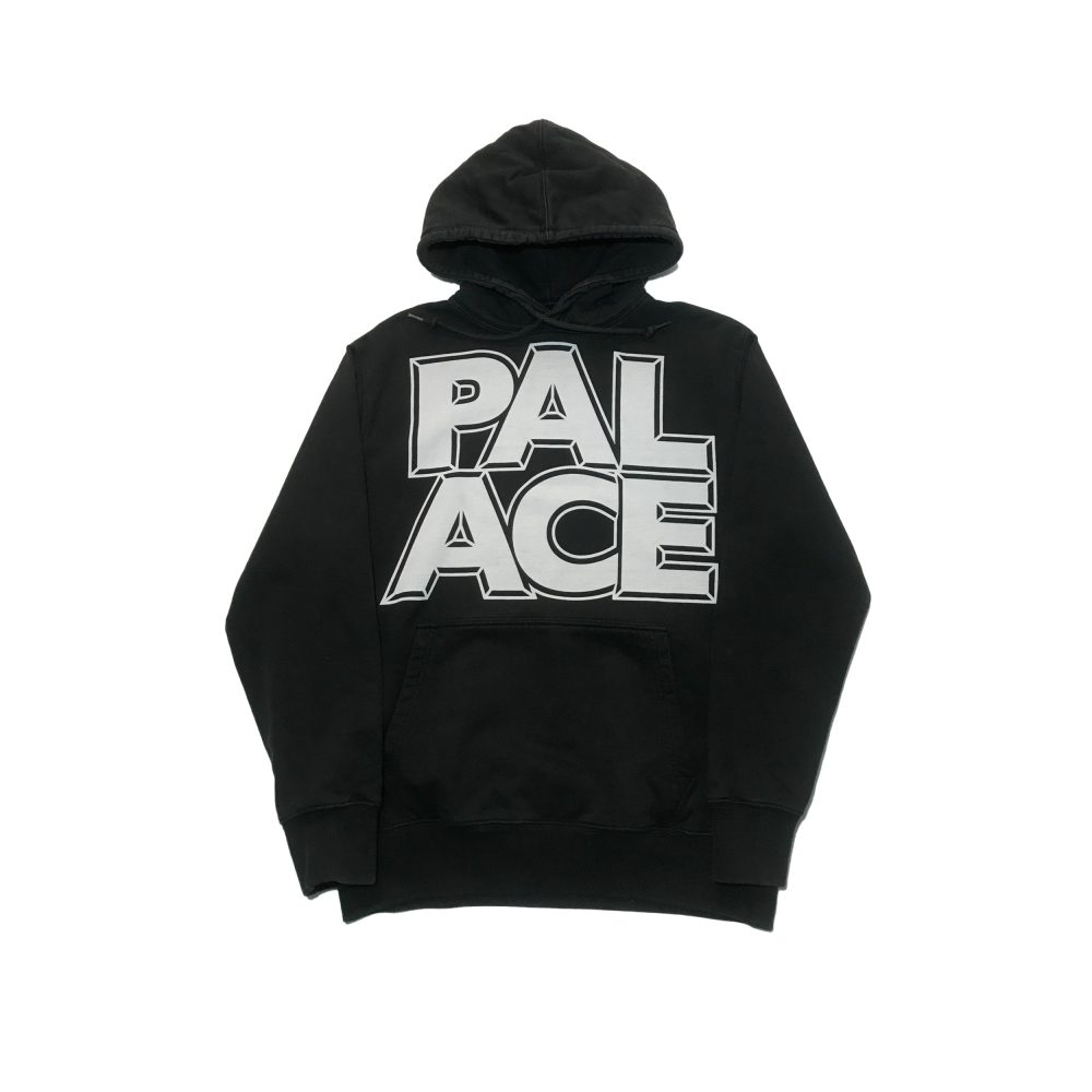 London_0002_palace london hood black small used front straight