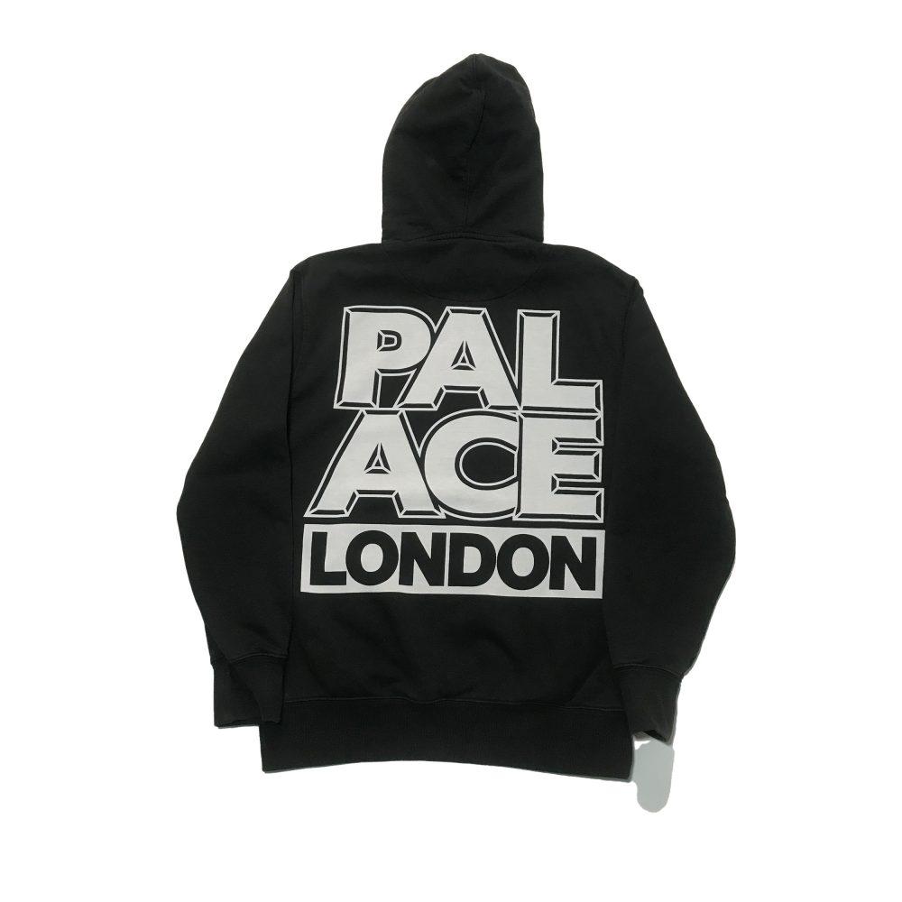 London_0003_palace london hood black small used back straight