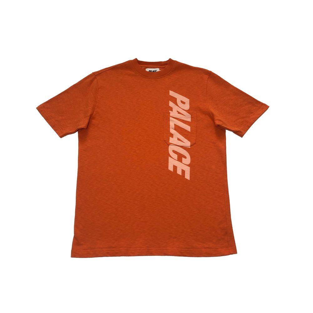 P Slub_0001_palace p slub pocket tee orange large used straight