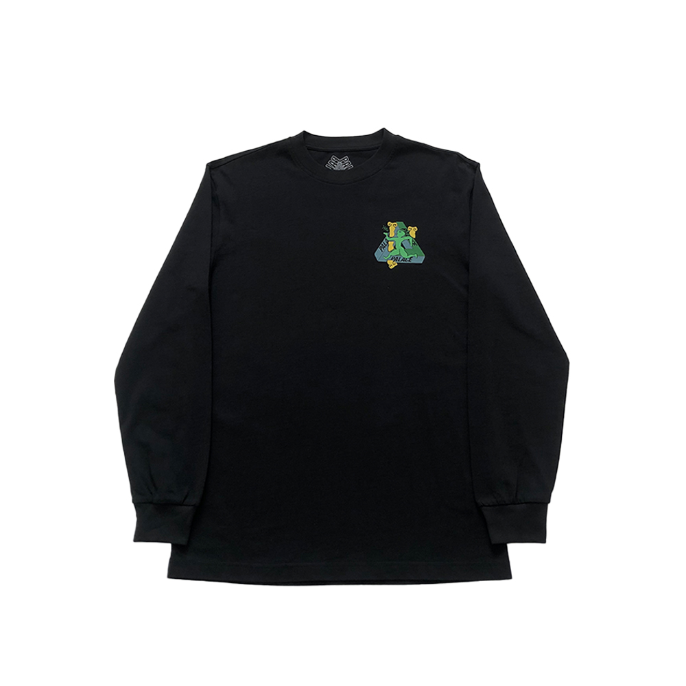 Tri_0002_palace dancing man ls tee black small new front straight