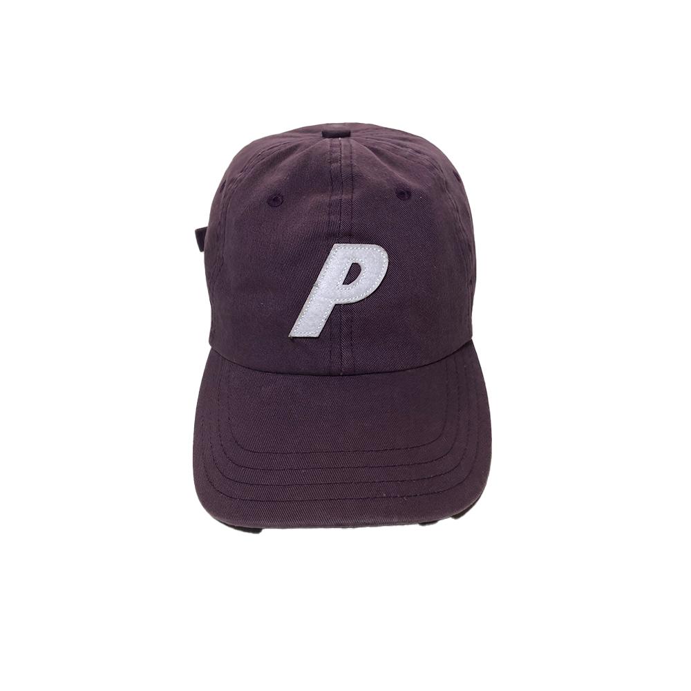 Cap_0001_palace p cap burgudny used straight