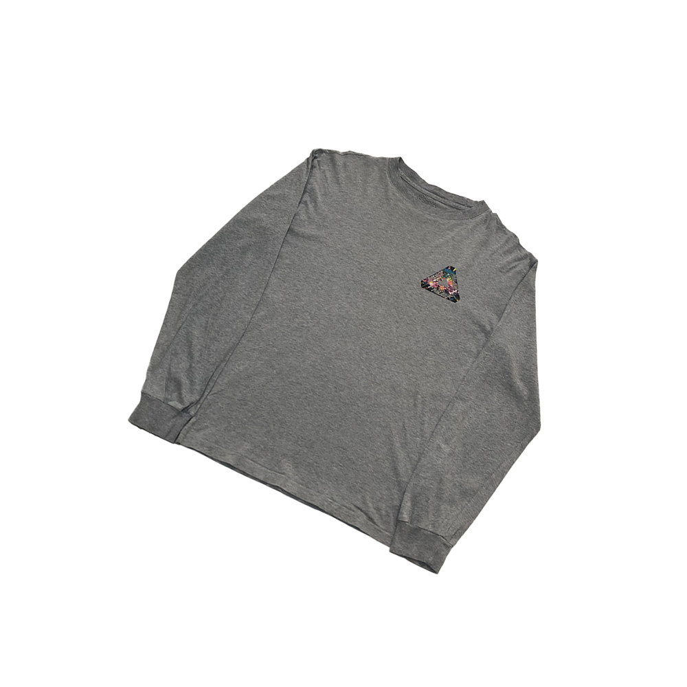Tri Works_0002_palace tri works ls tee grey large used front straight copy