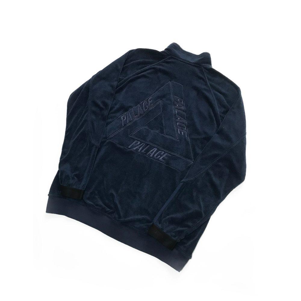 palace adidas towel jacket indigo xl used back diag