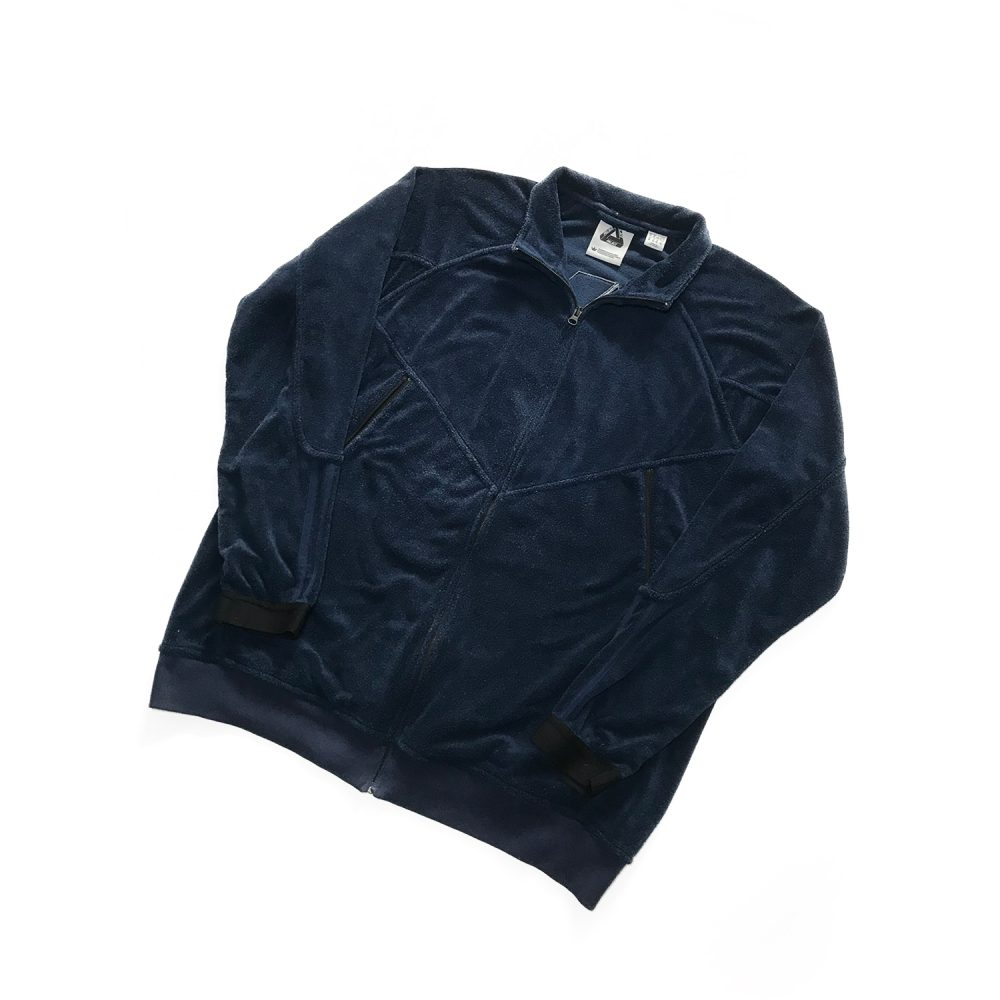 palace adidas towel jacket indigo xl used front diag