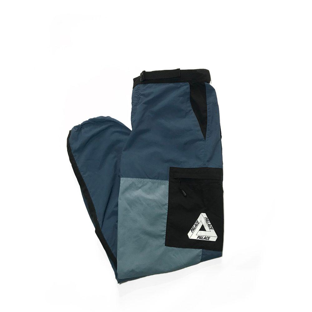 palace moorish shell pants blue large used folded