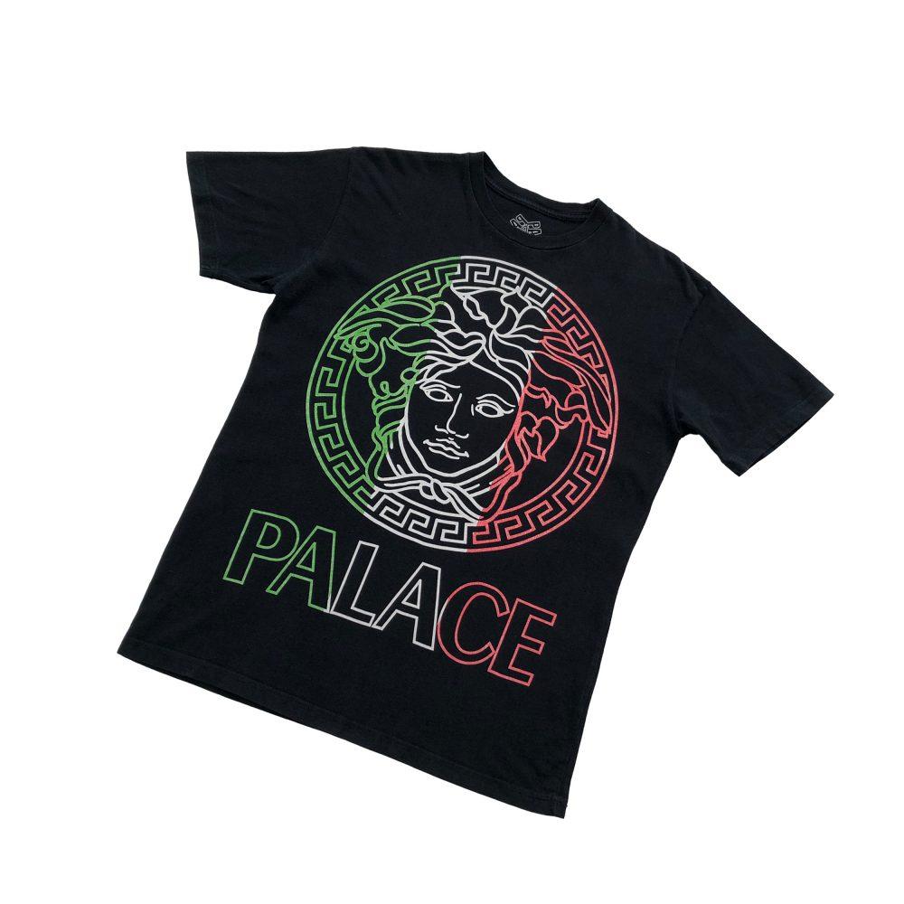 Palace versafe tee black medium used diag