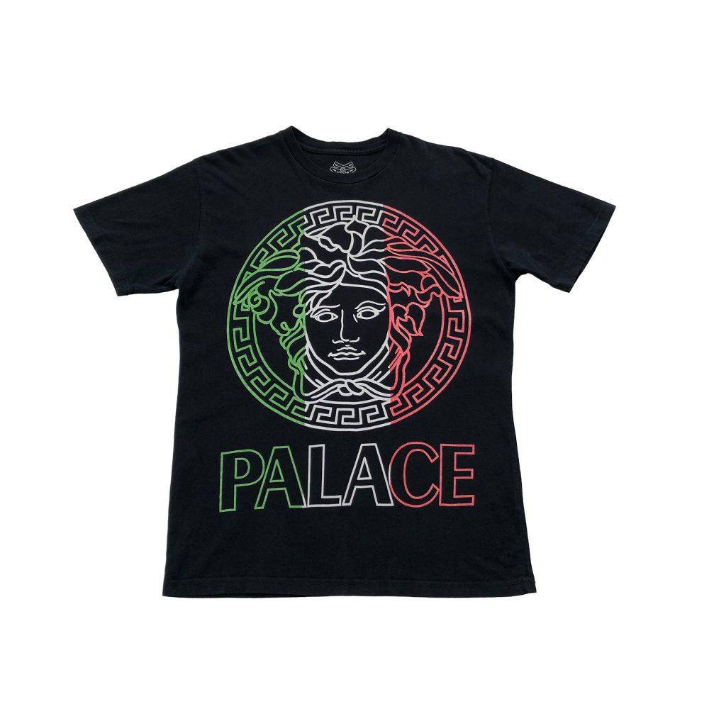 Palace versafe tee black medium used straight