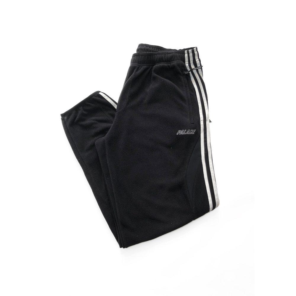 Palace x adidas fleece joggers black small used folded